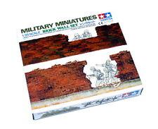 Tamiya Military Model 1/35 Miniatures Brick Wall Set Scale Hobby 35028