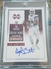 2016 Contenders Draft Picks Dak Prescott AUTO RC #125 AUTOGRAPH COWBOYS ROOKIE