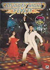 SATURDAY NIGHT FEVER (1977) JOHN TRAVOLTA ORIGINAL SOUVENIR PROGRAM