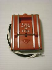 Edwards Fire Alarm Pull Station Est 270A-Spo