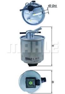 MAHLE KL440/4 Fuel Filter to fit Nissan Navara Pathfinder 2.5 dCi 01/05