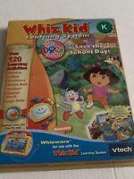 VTech Whiz Kid Learning System - Pre K - Dora The Explorer  - NIP