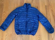Mens Athletech Blue Polyester Puffer Packable Jacket Size  Lg