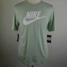 Herren Nike Sportswear aqua green Rundhalsausschnitt T Shirt Large