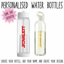 PERSONALISED COLOURFUL STAR WARS THEMED WATER BOTTLES GIFT KIDS SPORTS