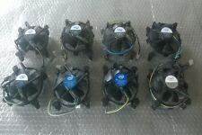 Stock Lote nr 8 Disipador + Ventilador pequeño Cpu Intel socket 775 Cable 4 poli