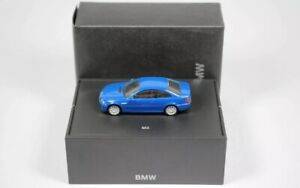 VERY RARE BMW M3 (E46) COUPE BLUE 1:87 HERPA (OEM DEALER MODEL)