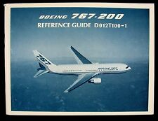 Boeing 767-200 Reference Guide D012T100-1 June 1992 Book