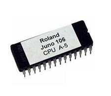 Roland Juno 106 firmware OS upgrade EPROM version CPU Board A5
