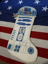 """Disney Star Wars R2-D2 Light-Up(led) 18"""" Christmas Stocking Brand New With Tags"""