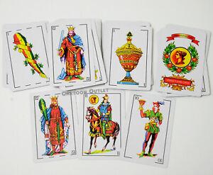 MEXICAN SPANISH PLAYING CARDS GAME BINGO TAROT BARAJA CARD GAME KING DECK NEW