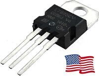 10PCS L7805CV L7805 7805 Positive Voltage Regulator IC 5V 1A TO-220 - USA