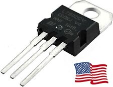 10PCS L7805CV L7805 7805 Positive Voltage Regulator IC 5V 1A TO-220 - USA