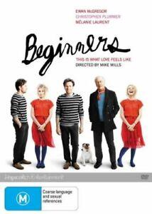 Beginners (DVD, 2012, R4) - NEW SEALED