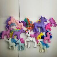 My Little Pony Off Brand Lot Rainbow Fakies Babies 14 total ponies