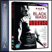 BLACK MASS - Johnny Depp & Joel Edgerton **BRAND NEW DVD***