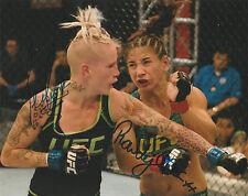 TECIA TORRES ROWDY BEC RAWLINGS SIGNED AUTO'D 8X10 PHOTO MMA UFC TUF 20 A