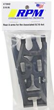 RPM R/C Products Part 73942 Black Rear Suspension Arms for Associated SC10 4x4