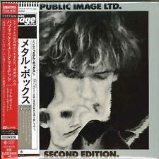 PUBLIC IMAGE LIMITED-METAL BOX...-JAPAN MINI LP PLATINUM SHM-CD Ltd/Ed H53