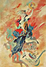 Art Ad Les Arts  1891  Deco Poster Print