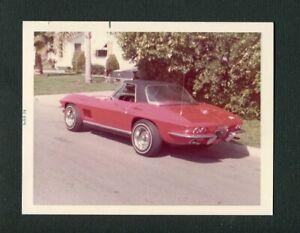 1967 Chevrolet Chevy Corvette Sports Car Vintage Color Photo 473029
