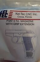 Kel-Tec P3AT 380acp 9 Round Extended Magazine P3AT-37 Keltec 9rd Mag FACTORY OEM