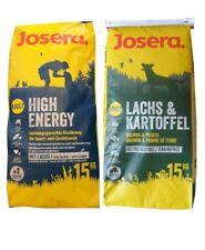 15kg Josera High Energy + 15kg Josera Lachs & Kartoffel Hundefutter
