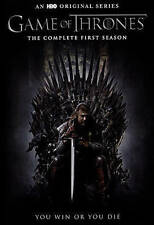 Game of Thrones: The Complete First 1st 1 Season (DVD, 2015, 5-Disc Set) NEW