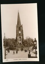 Nottinghamshire Notts NOTTINGHAM St Peter's Church c1900/10s? RP PPC by Kingsway