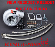 "Kinugawa Billet Turbocharger Bolt-On 3"" Anti Surge RB20 RB25DET TD06SL2-20G 8cm"