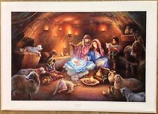 "Tom duBois ""No Room for Them in the Inn"" Time-Limited Edition Print #01623"