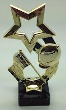 Motor sport Rising Star Trophy voiture de course karting vélo Gold Award SS