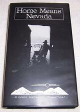 Home Means Nevada VHS Video Linda Dufurrena Paul Schmitt Joyce Vetter