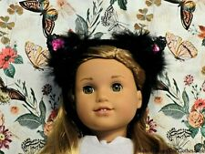 """Kitty Cat Ears Headband 18"""" Doll Clothes Fit American Girl Dolls"""