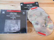 CD udito Emma Fielding-John Cleland: Fanny Hill 3cd BOX (224 min) Naxos AUDIO