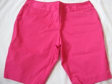 WOMENS WORTHINGTON MODERN FIT BRIGHT PINK SHORTS, 18