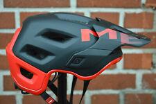 MET Roam MTB/Estelo / Casco Enduro Visera Ajustable Cam-Kompatibel Negro Rojo