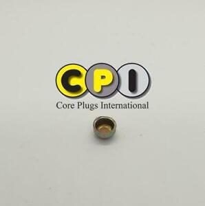 8mm Cup type core plug - CR4 Zinc Plating - British Steel BS1449