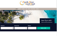 Beautiful Travel, Hotel & Flight  search engine and booking  Affiliate Website