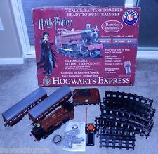 2008 Lionel Harry Potter Hogwarts Express G-Gauge Ready-to-Run Train Set 7-11080