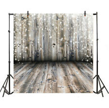 Wood Board Christmas Backdrop Photography Props 10x10ft Background Party Photo