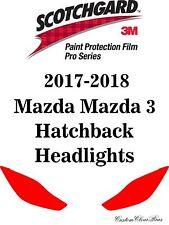 3M Scotchgard Paint Protection Film Pro Series 2017 2018 Mazda Mazda 3 Hatchback