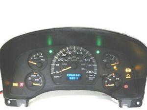 Instrument Speedometer Gauge IPC Cluster Panel 169K for 04-07 Express Savana Van