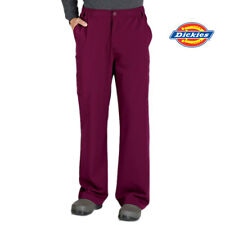 81210 DICKIES MENS Stretch Elastic Waist Scrub Pant Nurse Medical Uniform Dental