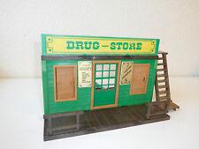 Western Playmobil drugstore 3424 incomplete