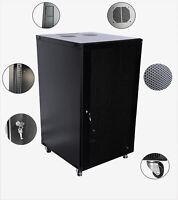 Combo 4 units deal 22U Wall Mount Server Cabinet Rack Enclosure Ventilated Door