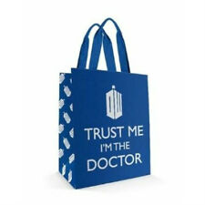 "DOCTOR WHO ""TRUST ME I'M THE DOCTOR"" Reusable Tote bag shopping bag NWT"