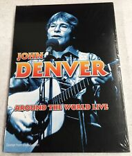 JOHN DENVER Around The World Live NEW 5-DVD SET R0 1977-1990 australia oz seller