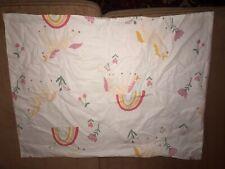Nwot pillowfort unicorn and rainbow pillow sham set 100% cotton