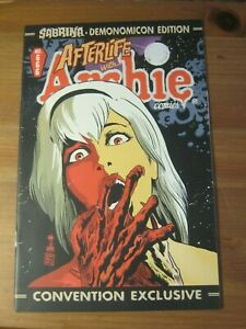 Sabrina Demonomicon #666 2014 - Preview & Afterlife With Archie reprint     ZCO1